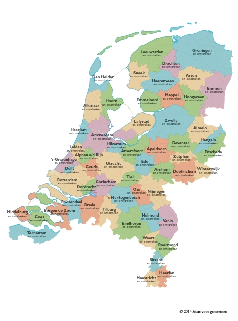 Driebergenaar herindeelt Nederland