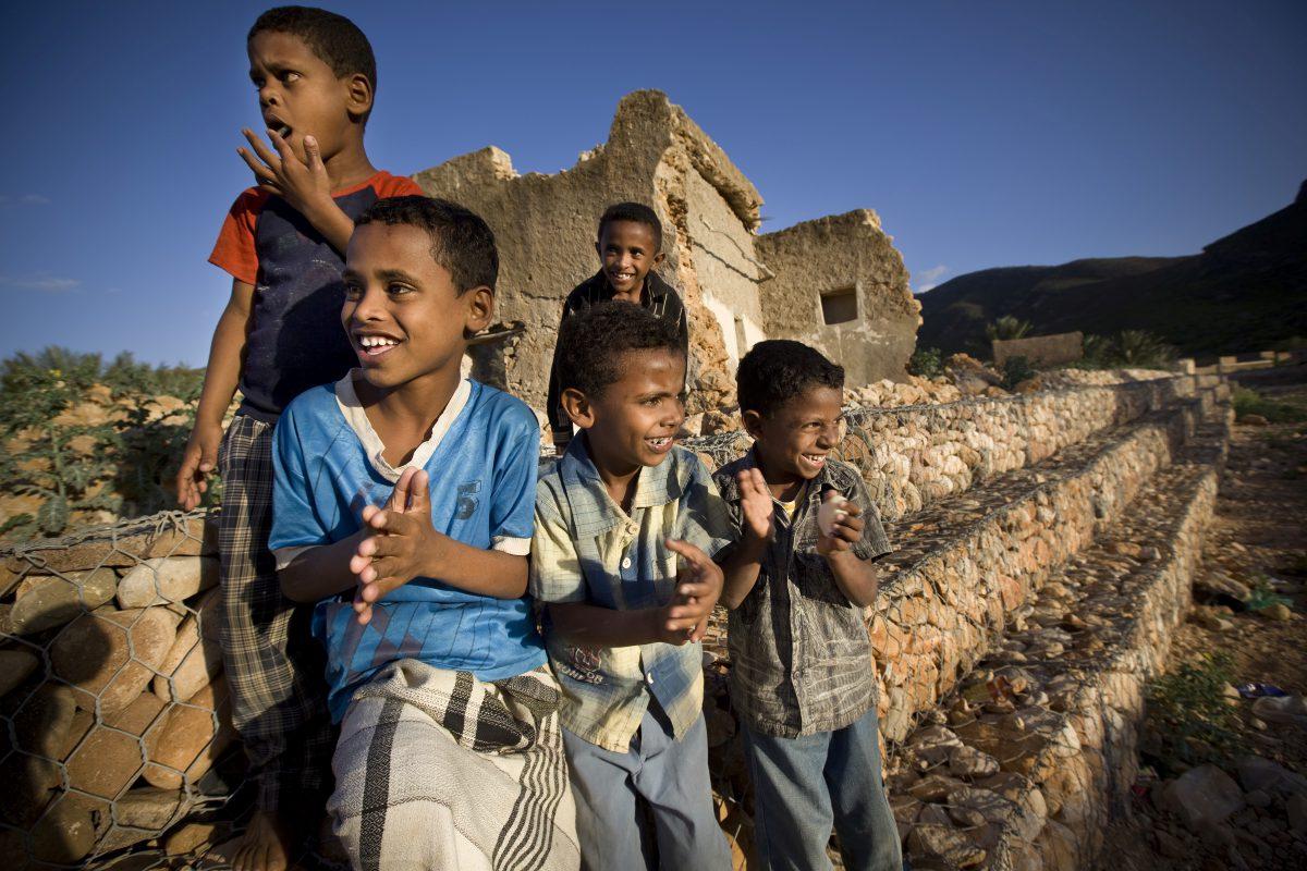 Droge Voeten op Socotra